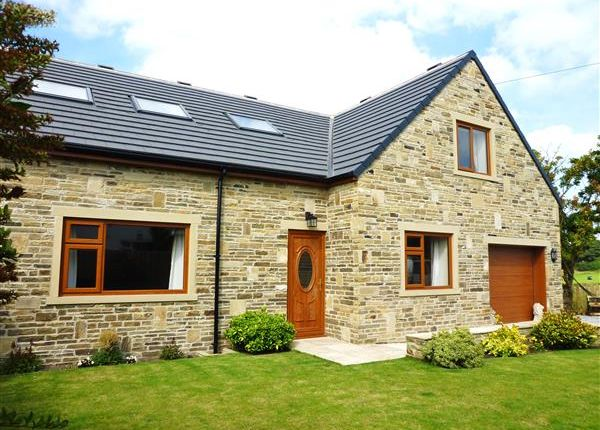 Thumbnail Detached house for sale in West Lodge Crescent, Ainley Top, Huddersfield