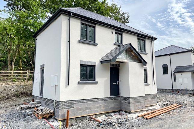 Thumbnail Detached house for sale in Hafren Close, Hafren Terrace, Llanidloes, Powys