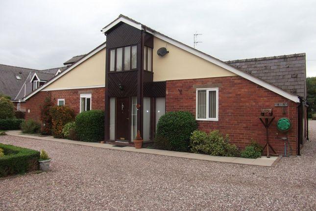 Thumbnail Detached house to rent in Rossett, Wrexham