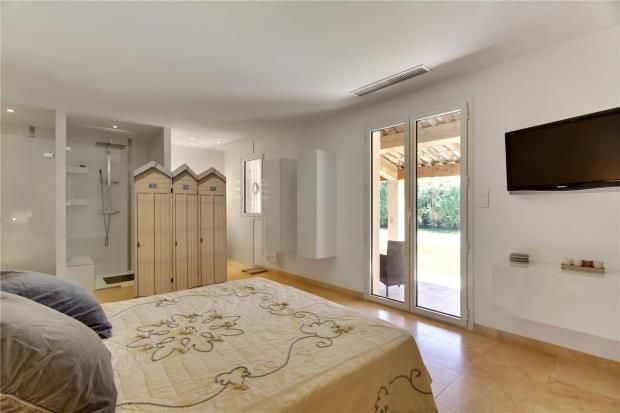 Bedroom of Saint-Tropez, Var Coast, French Riviera, 83990
