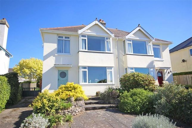 Thumbnail Semi-detached house for sale in Ranscombe Road, Wall Park Area, Brixham