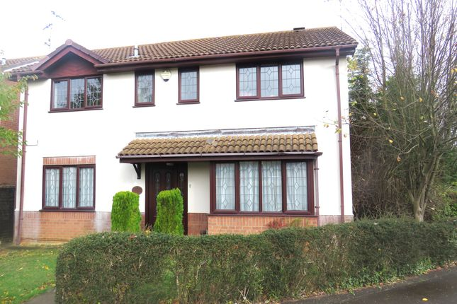 Thumbnail Detached house for sale in Temple Grange, Werrington, Peterborough