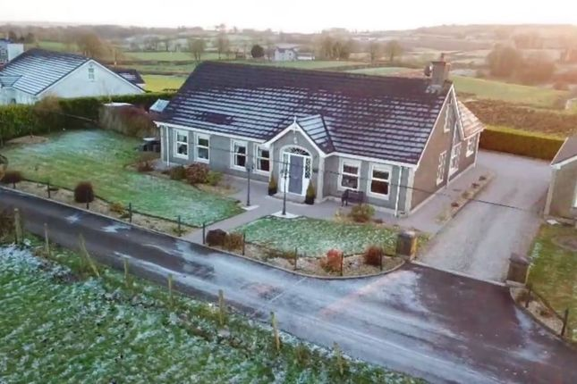 Thumbnail Detached bungalow for sale in Garvaghy Road, Portglenone, Ballymena, County Antrim