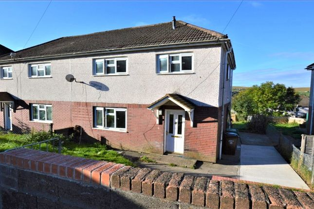 Thumbnail Semi-detached house to rent in Nursery Crescent, Rhymney, Tredegar