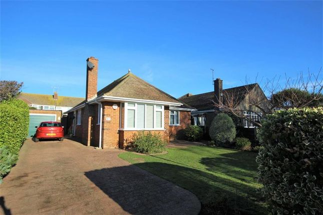 Thumbnail Detached bungalow for sale in Warnham Road, Goring By Sea, Worthing, West Sussex