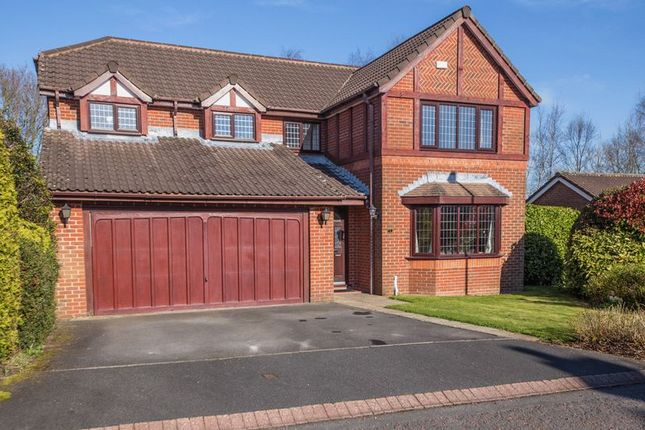 Thumbnail Detached house for sale in Plymouth Grove, Standish, Wigan