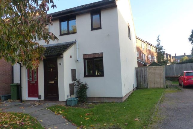 Thumbnail End terrace house to rent in Brookvale Close, Basingstoke