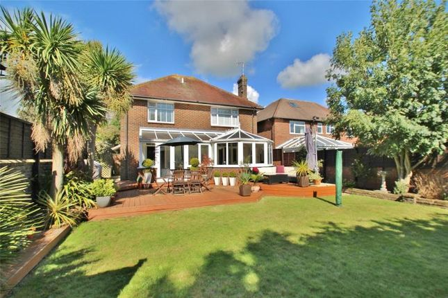Thumbnail Detached house for sale in Upper Brighton Road, Broadwater, Worthing