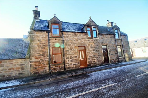 Thumbnail Semi-detached house for sale in King Street, Burghead, Elgin