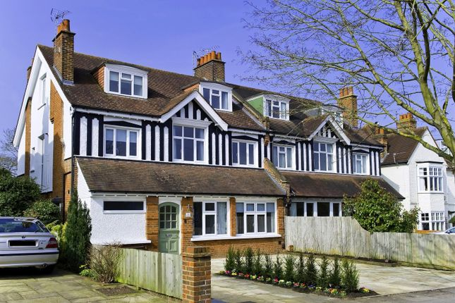 Front of Albany Crescent, Claygate, Esher, Surrey KT10