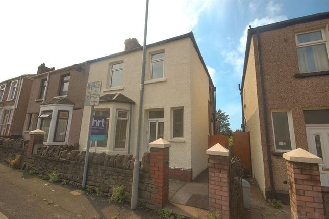 Thumbnail Semi-detached house to rent in Caradog Street, Port Talbot
