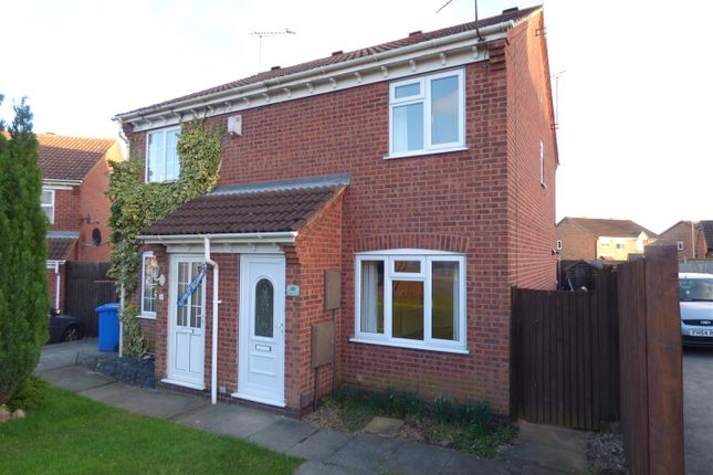 Thumbnail Semi-detached house to rent in Prestbury Close, Oakwood, Derby