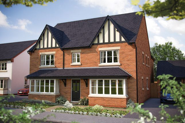 "Thumbnail Detached house for sale in ""The Ascot"" at Gable Mews, Salford Road, Bidford-On-Avon, Alcester"
