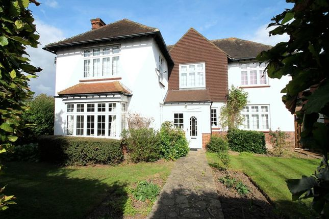 Thumbnail Detached house for sale in Shorncliffe Road, Folkestone