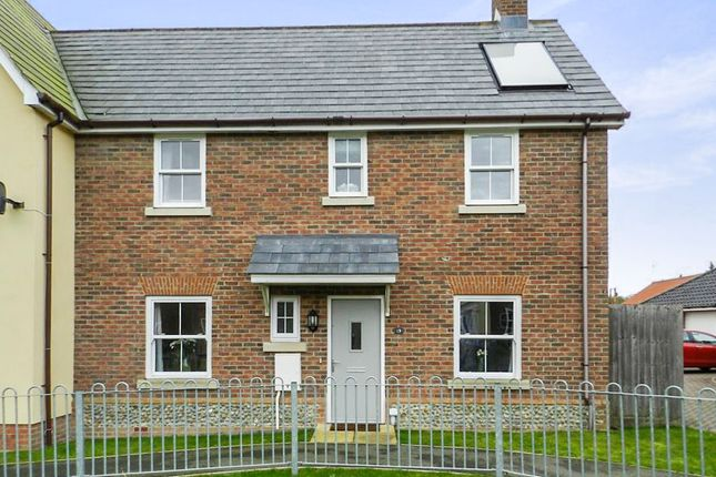 3 bed end terrace house for sale in Owen Cole Close, Great Massingham, King's Lynn