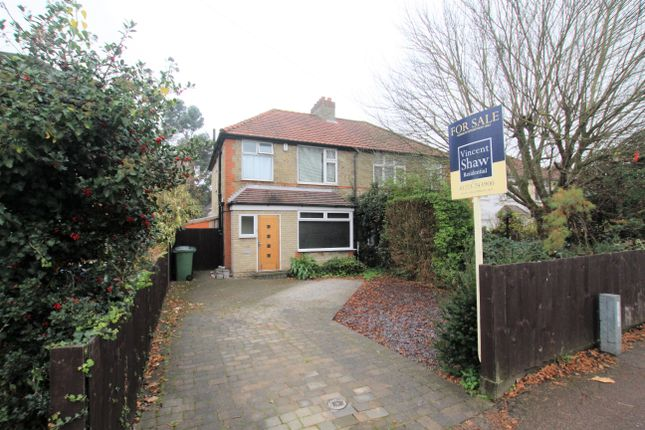 Thumbnail Semi-detached house for sale in Scarsdale Close, Green End Road, Cambridge