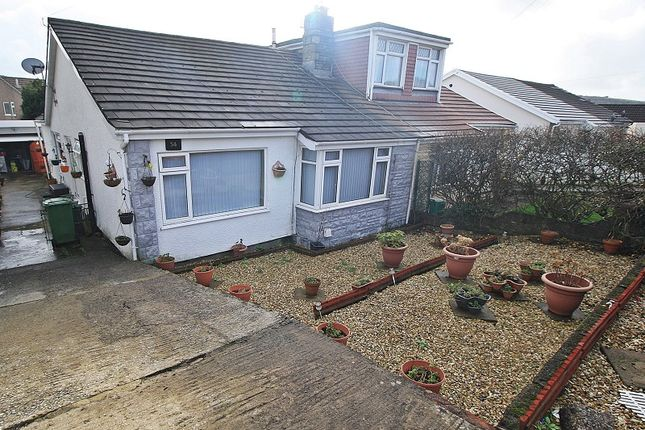 Thumbnail Semi-detached bungalow for sale in York Drive, Llantwit Fardre, Pontypridd, Rhondda, Cynon, Taff.