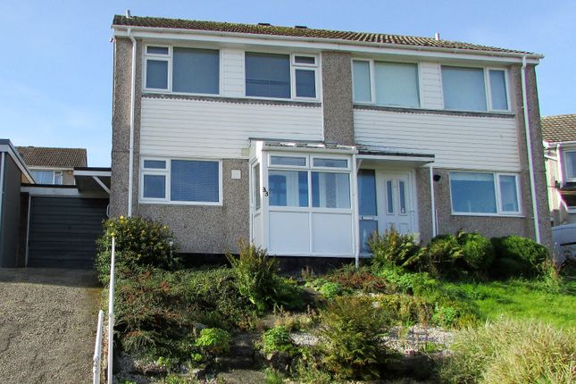 Thumbnail Semi-detached house to rent in Samuel Bone Close, Liskeard