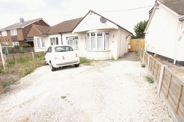 Thumbnail Semi-detached bungalow for sale in Rushbottom Lane, Benfleet