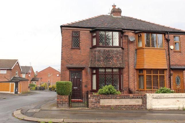 Semi-detached house for sale in Peel Street, Farnworth, Bolton