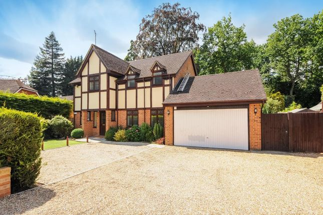 Thumbnail Detached house to rent in Holmes Close, Sunninghill