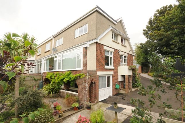 Thumbnail Semi-detached house for sale in Edgeley Road, Torquay