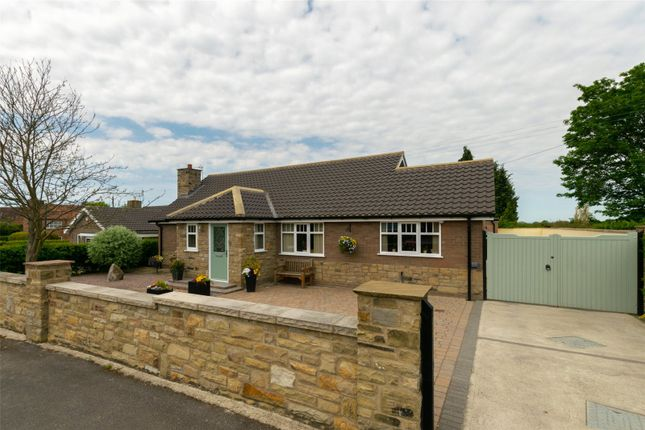 Thumbnail Detached bungalow for sale in Church Rise, Holtby, York