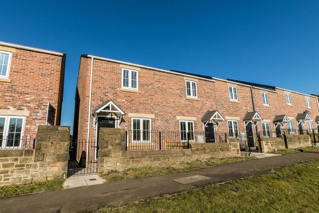 Thumbnail End terrace house for sale in Pickering Lodge Court, Hobson, Gateshead, Newcastle Upon Tyne