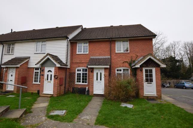 Thumbnail Terraced house for sale in Rowan Close, Heathfield, East Sussex, United Kindom