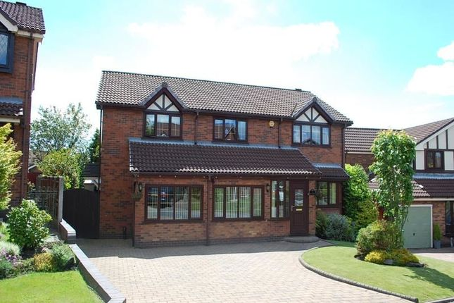 Thumbnail Detached house for sale in Silvermere, Ashton-Under-Lyne