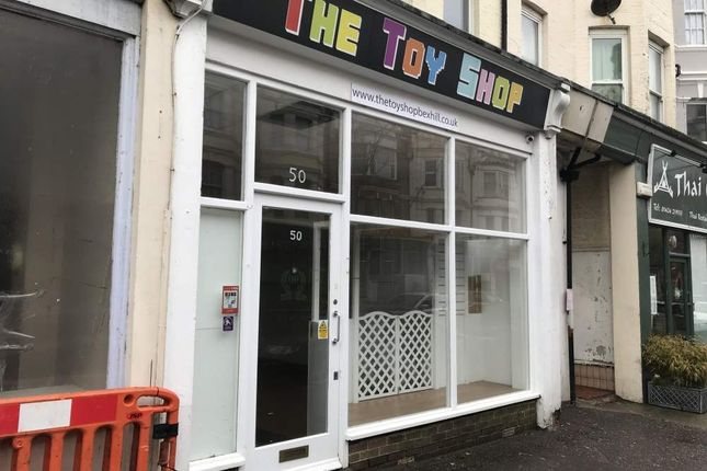 Thumbnail Retail premises for sale in 50 Sackville Road, Bexhill On Sea