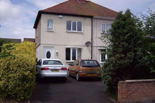 Thumbnail Semi-detached house to rent in Allton Avenue, Mile Oak, Tamworth, Staffordshire