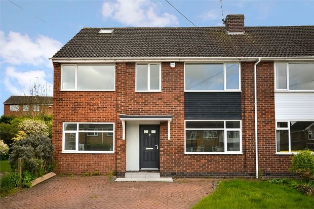 Thumbnail Semi-detached house for sale in Modbury Close, Styvechale, Coventry, West Midlands