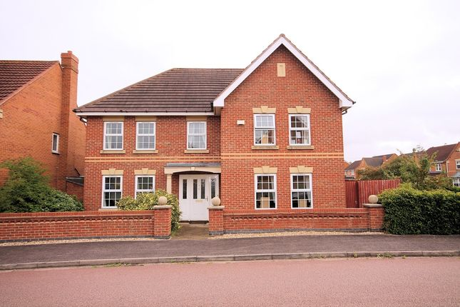 Thumbnail Detached house for sale in Bayham Close, Abbeyfields, Elstow