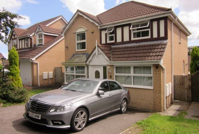 Thumbnail Detached house to rent in Meadow Rise, Cockett, Swansea.