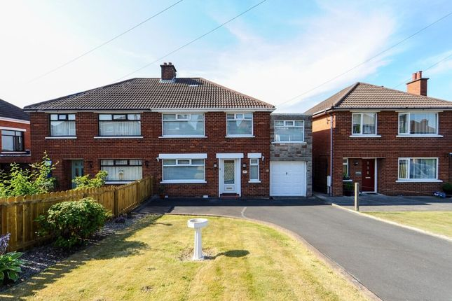 Thumbnail Semi-detached house for sale in Roddens Crescent, Castlereagh, Belfast