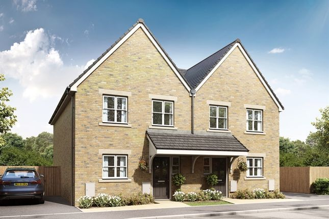 "Thumbnail Semi-detached house for sale in ""The Orford"" at Hadham Road, Bishop's Stortford"