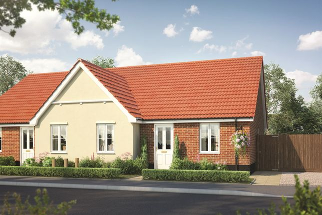 Thumbnail Semi-detached bungalow for sale in Fordham Road, Soham, Ely