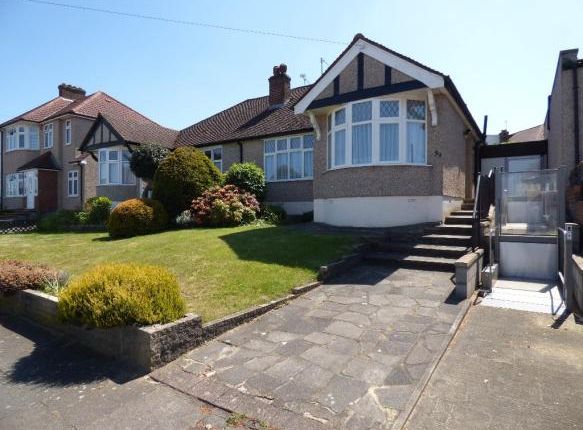 Thumbnail Semi-detached bungalow for sale in Haslemere Avenue, London