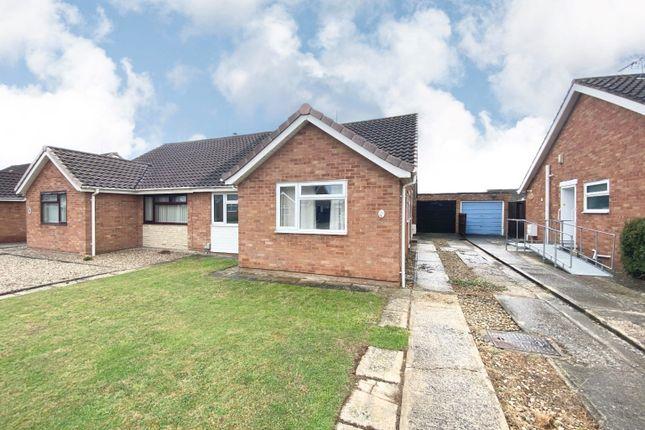 Thumbnail Semi-detached bungalow for sale in Corinium Way, Coleview, Swindon