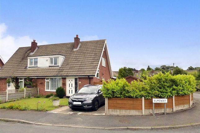 Thumbnail Semi-detached house for sale in Elmsway, Bollington, Macclesfield