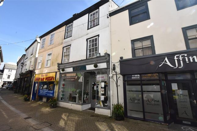 Thumbnail Commercial property for sale in Fore Street, Liskeard, Cornwall
