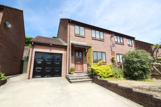 Thumbnail Semi-detached house for sale in Delafield Road, Abergavenny