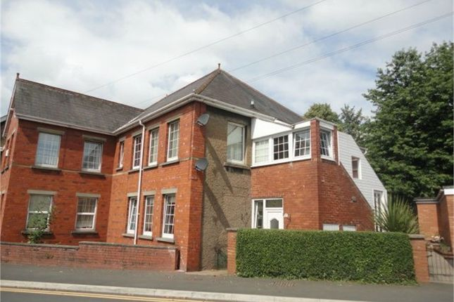 Thumbnail Flat for sale in Park Crescent, Abergavenny, Monmouthshire