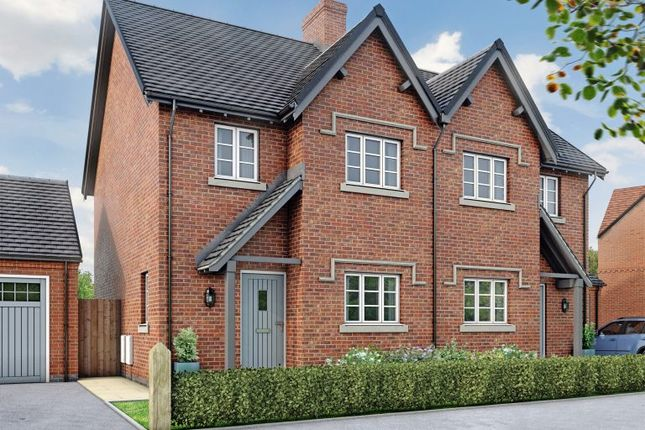 Thumbnail Semi-detached house for sale in The Chester, Moira, Leicestershire