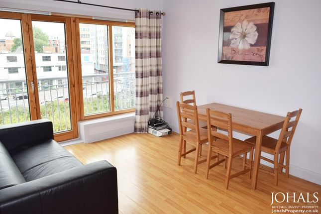 Thumbnail Flat to rent in The Annexe, 3 Junior Street, Leicester