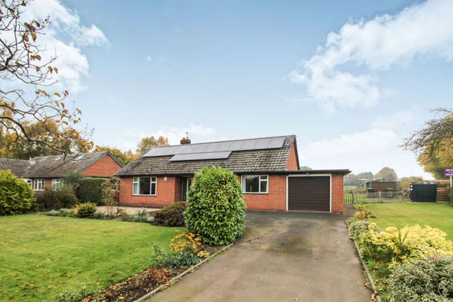 Thumbnail Detached bungalow for sale in Shawbury Heath, Shrewsbury