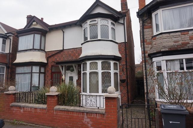 Thumbnail Semi-detached house for sale in Lansdowne Road, Erdington, Birmingham