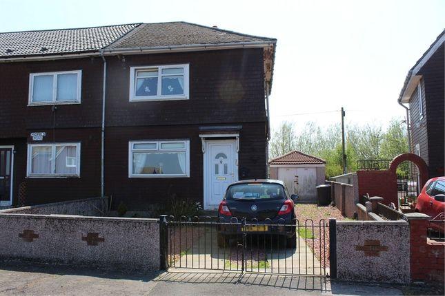Thumbnail End terrace house for sale in Midfield Road, Coalburn, Lanark