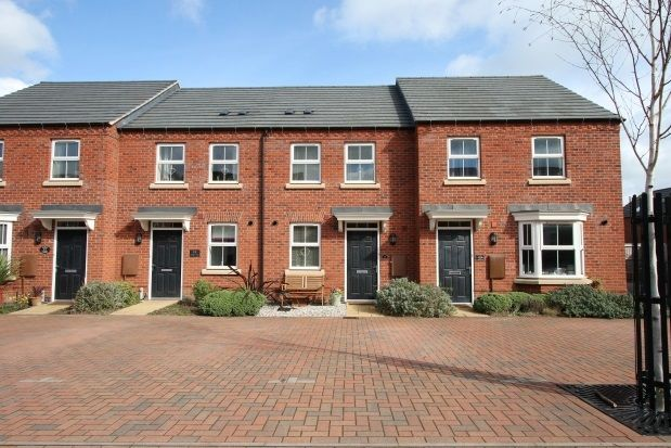 Thumbnail Terraced house to rent in Olympic Way, Hinckley